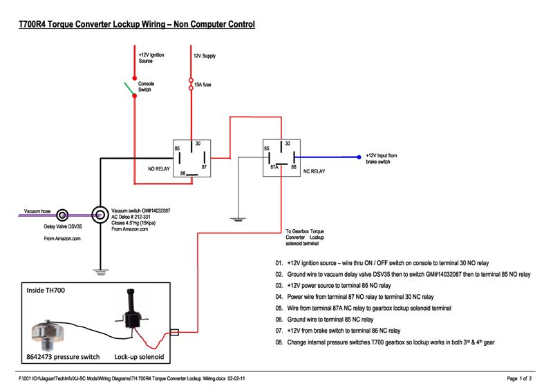 T_700R4_Torque_Converter_Lockup_Wiring_Non_Computer_Control_w 700r4 lockup wiring diagram 700r4 lockup wiring easy \u2022 free wiring 4l60e tcc wiring diagram at panicattacktreatment.co